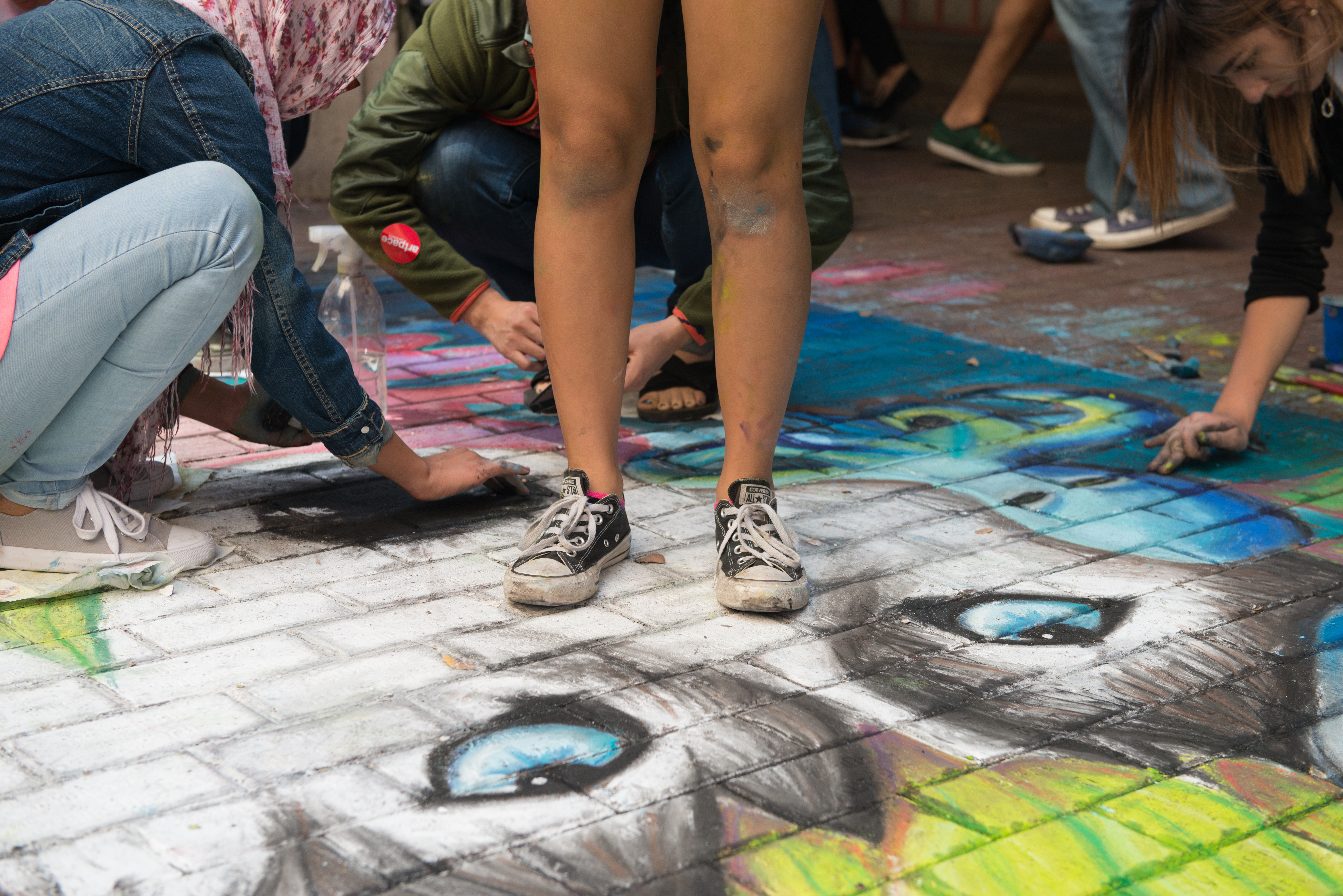 San Antonio Streets Come To Life At Chalk It Up 2016 The