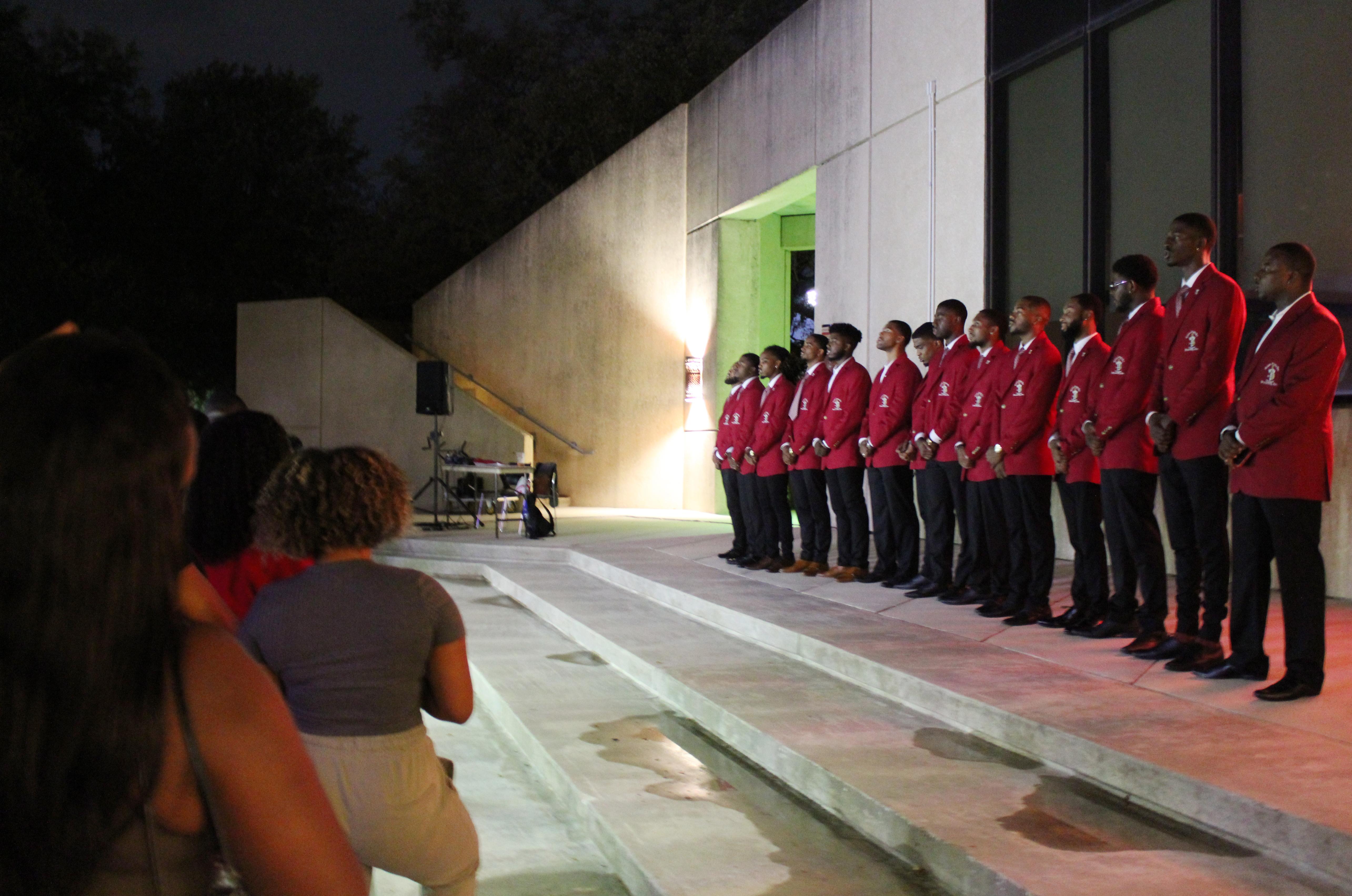 Kappa Alpha Psi choir members