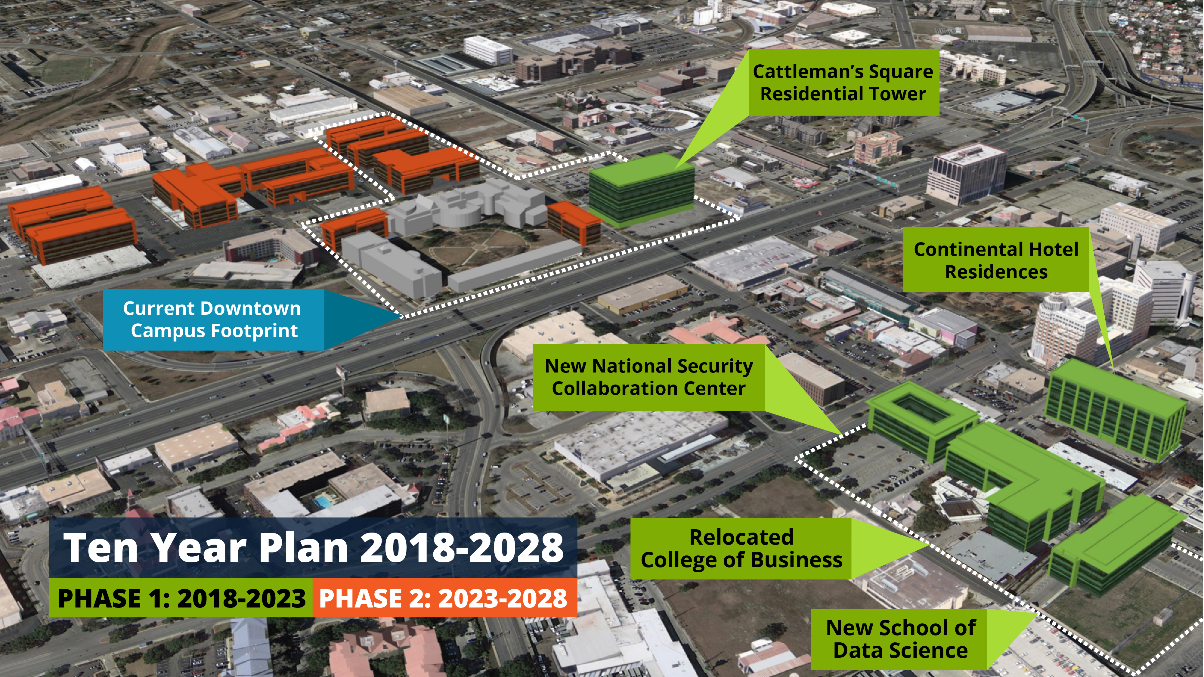 Expansion To Downtown Campus And College Of Business The Paisano