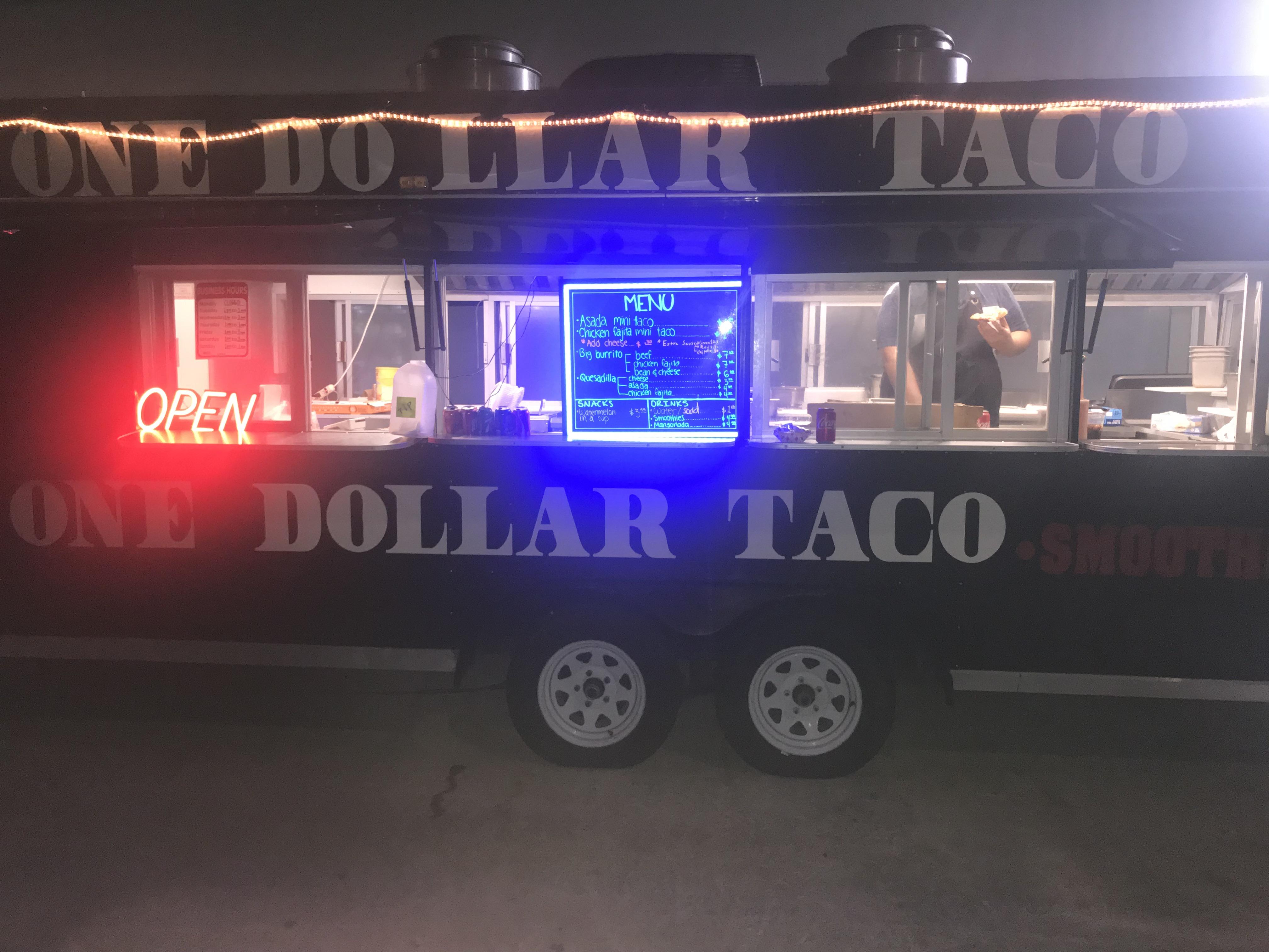 One Dollar Taco truck