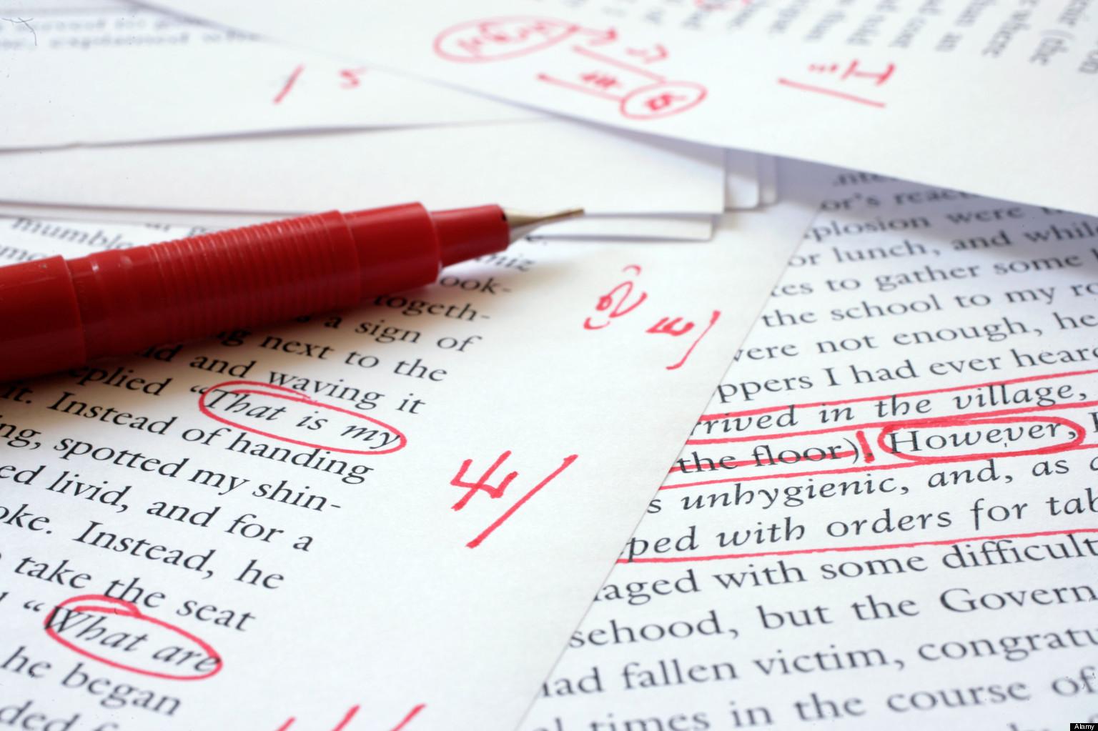 Editing an English paper