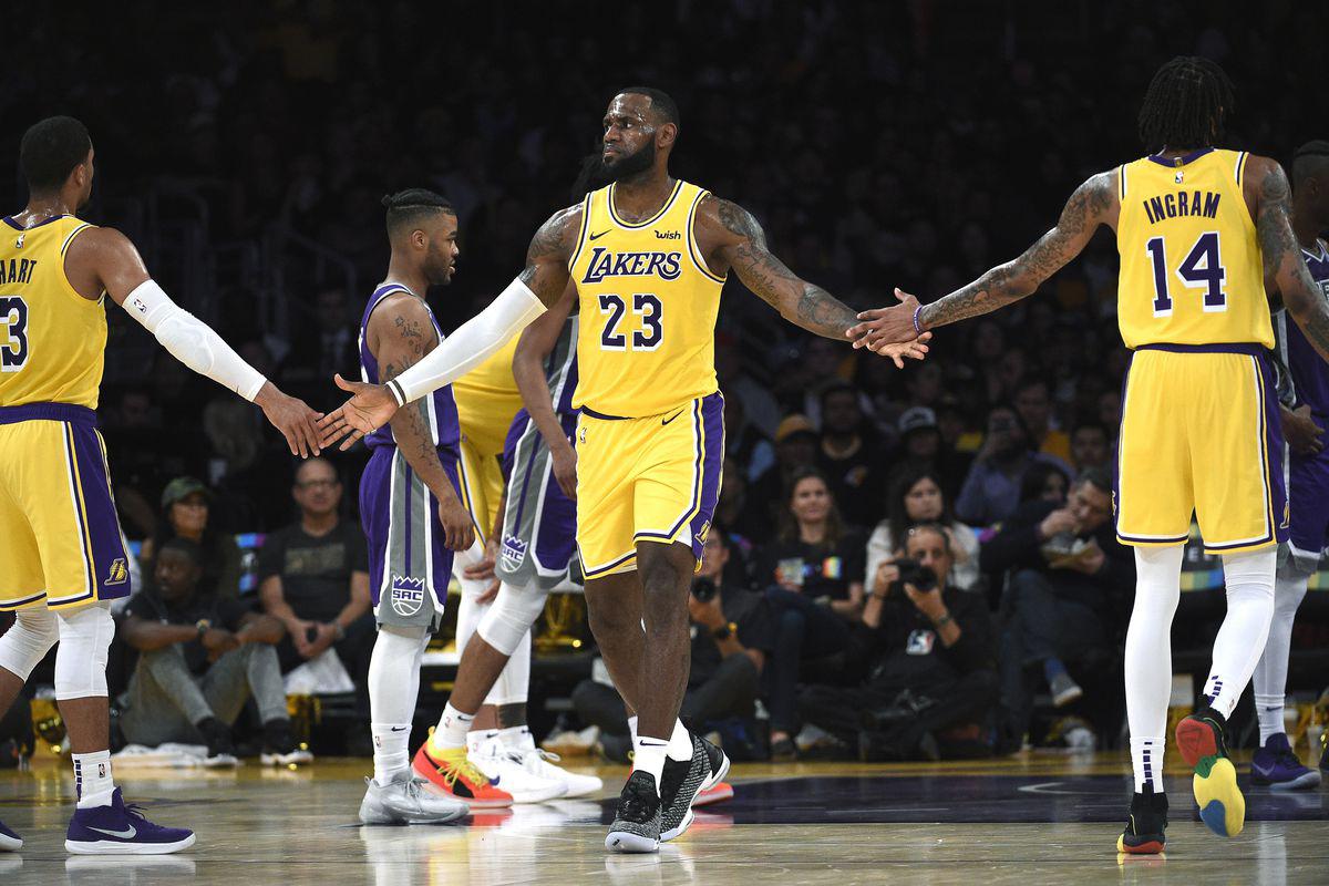 Lebron James at the NBA Finals