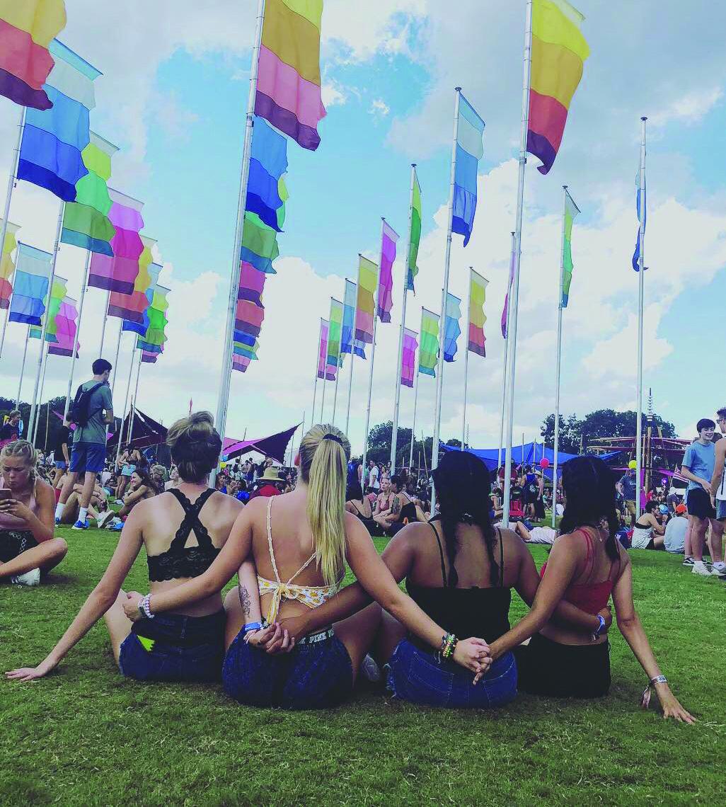 ACL festival goers