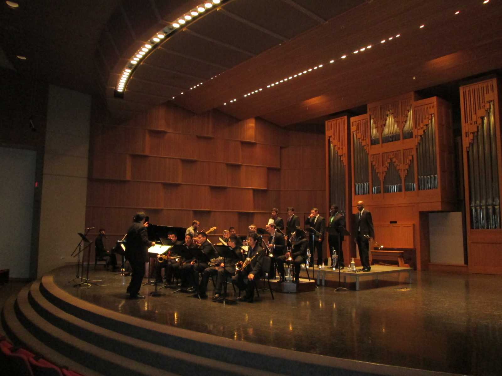 UTSA Jazz Ensemble.